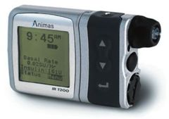 Image of Animas IR1200 insulin pump
