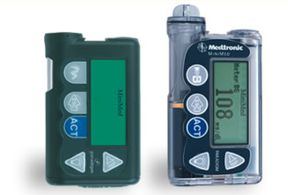 Image of MiniMed Paradigm 512 and 712 insulin pumps